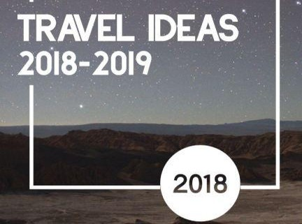 Travel Ideas and Self Drive Catalogues for the 2018-2019 season.