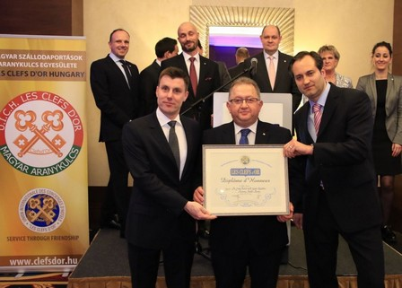 Concierge award for Cityrama DMC Budapest